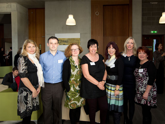 Members of the Donegal Community Health Network at the launch in Limerick, 2014.